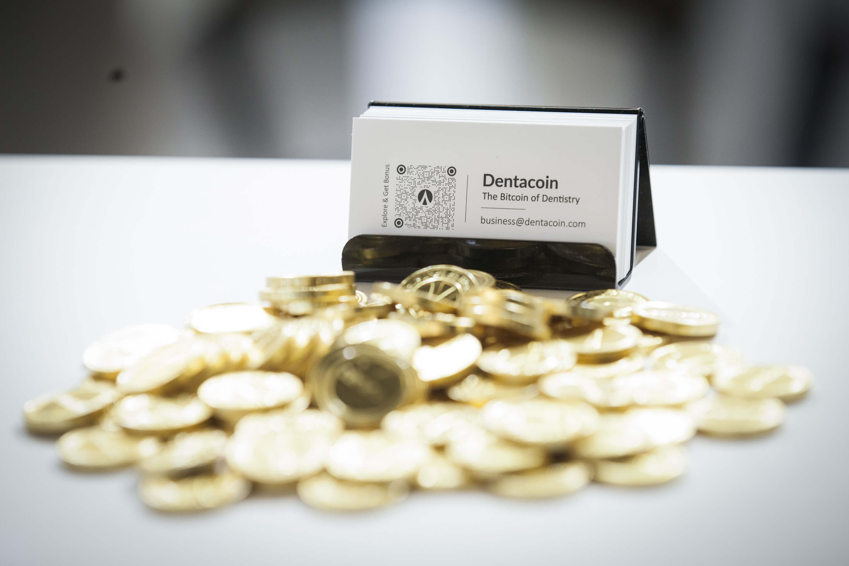 Dentacoin chocolate coins ids cologne