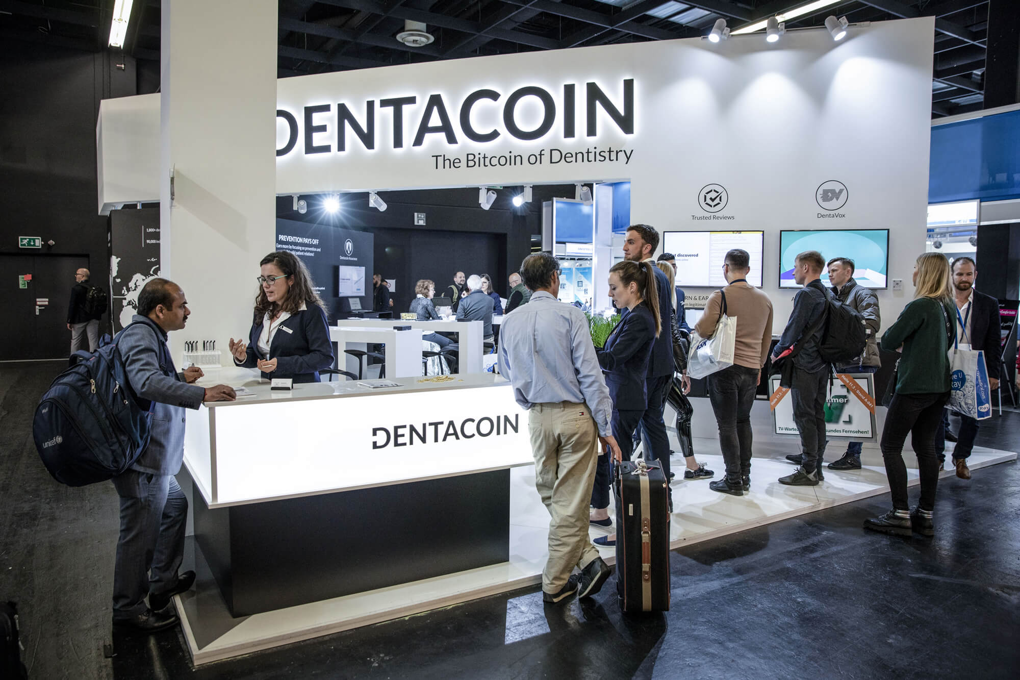 Dentacoin stand ids cologne